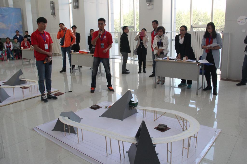 我校来自建筑与土木工程学院的以赵帅