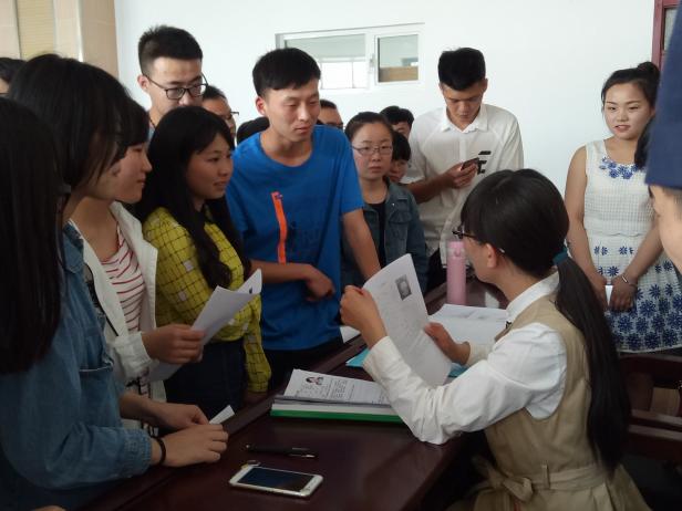土木工程学院召开中建二局一公司专场招聘会-内蒙古